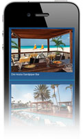 Divi Aruba mobile site