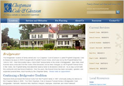 Funeral Home Website Design with Obituary Management Human